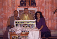 With Tai Situ Rinpoche at Sherab Ling Monastery, Baijnath, India